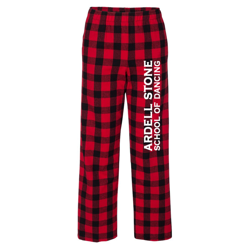Flannel Pants - Red / Black