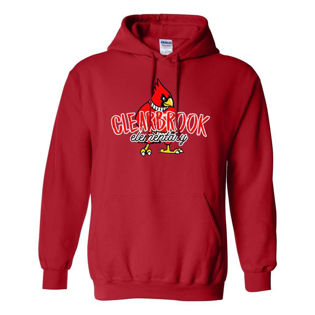 Cardinal Chalk Hoodie - Youth & Adult Sizes
