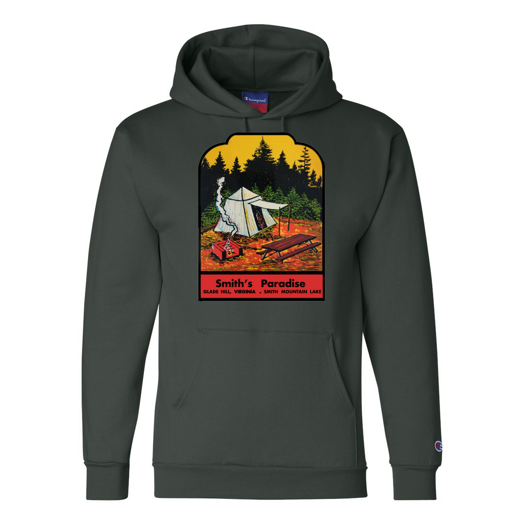 Smith's Paradise Dark Green Hoodie