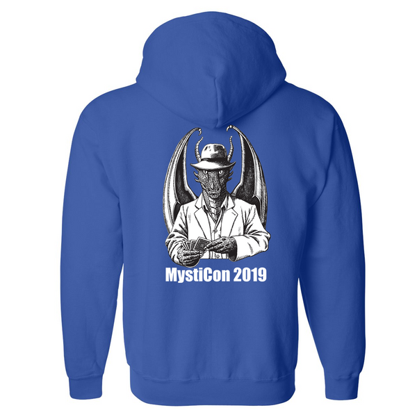 Mysticon 2019 - Full Zip Sweatshirt - Royal