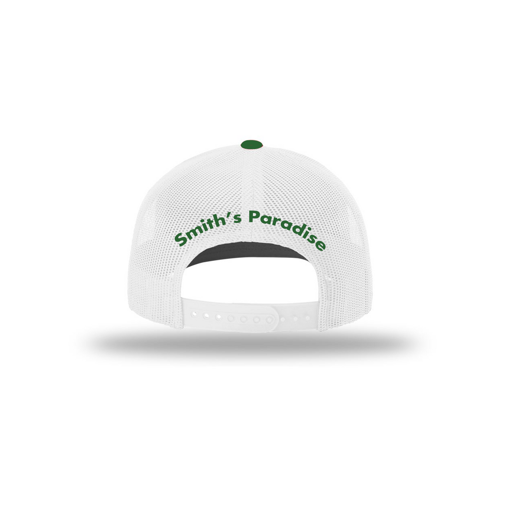 Smith's Paradise Green White Hat
