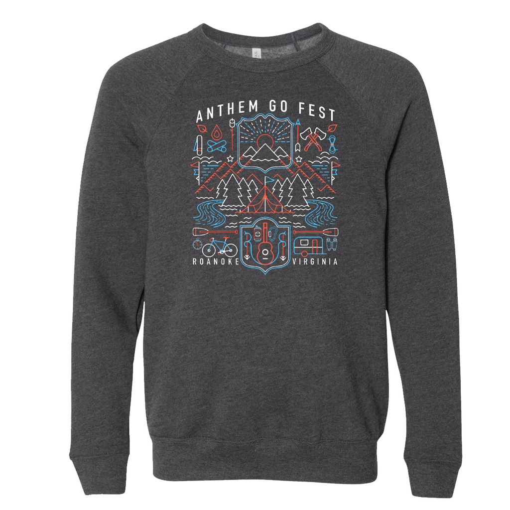 2020 GoFest - Elements Crewneck (Dark Grey Heather)