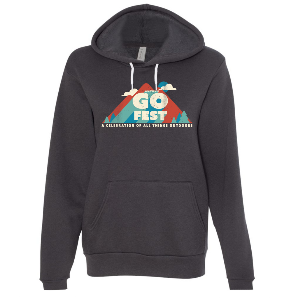 2020 GoFest - Mountain Hoodie (Dark Grey)