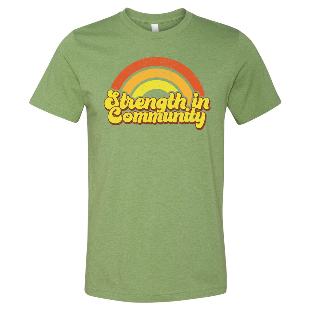 Community - Short Sleeve Heather Green