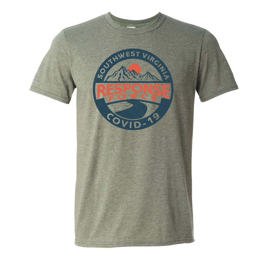 SWVA Covid Response Force *Super Soft* Tee- Heather Olive