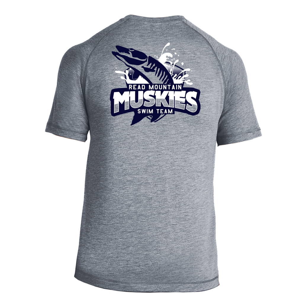 RM Heathered Moisture Wicking Performance Tee