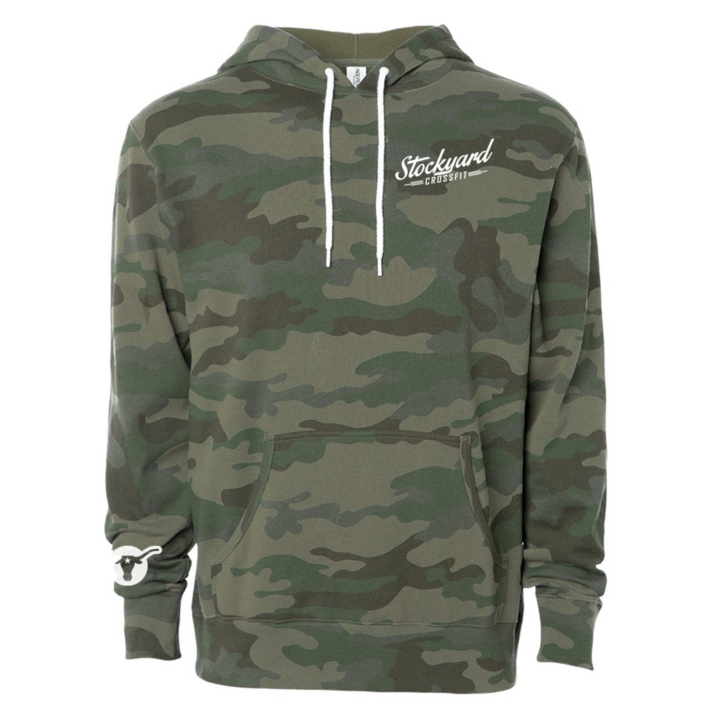 Stockyard Bull - Hooded Pullover Sweatshirt