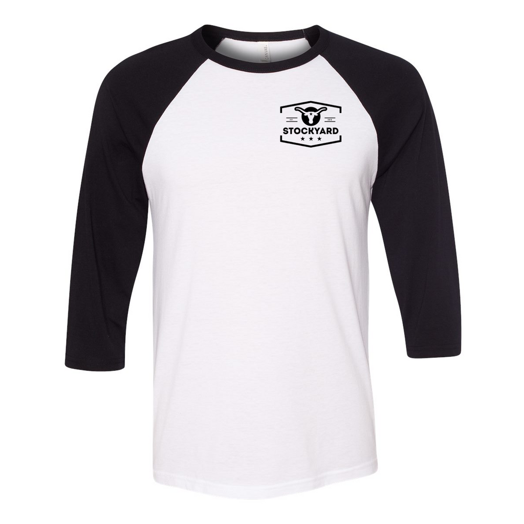 Stockyard Script - 3/4 Sleeve Raglan T-Shirt