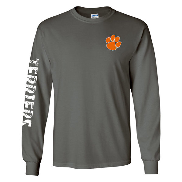 Terriers Long Sleeve - Charcoal