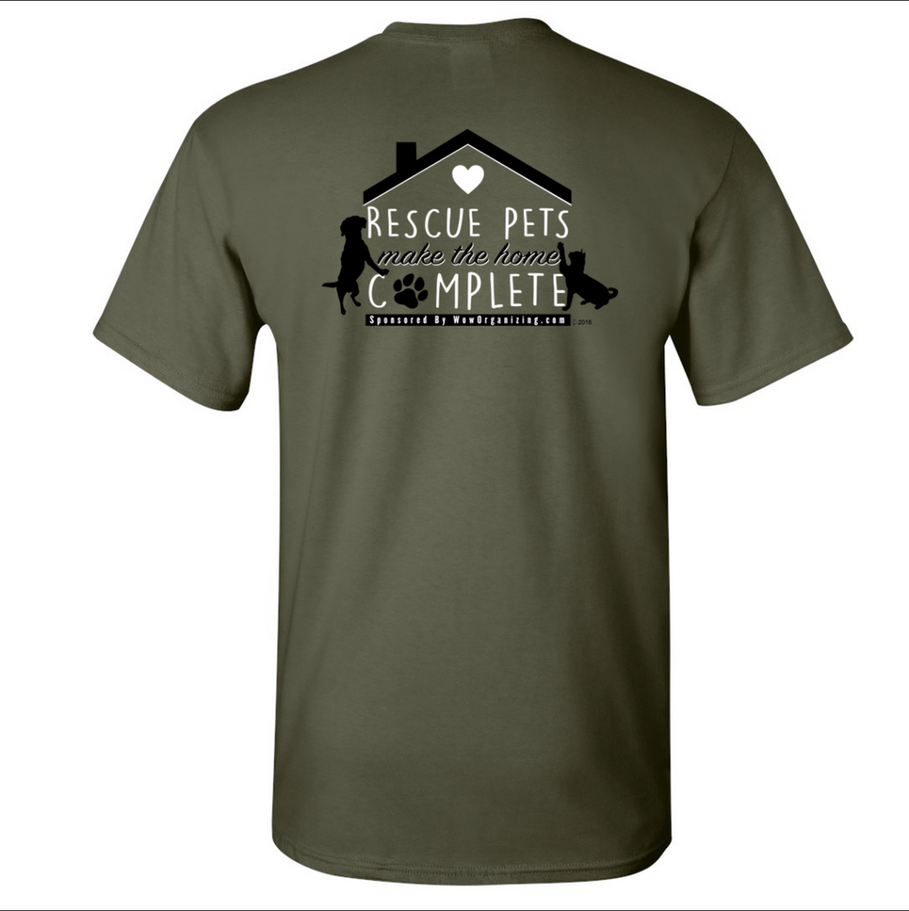 Military Green Unisex Short Sleeve T-shirt
