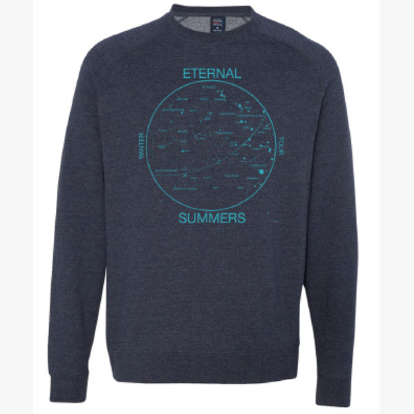 Eternal Summers Crewneck - Navy