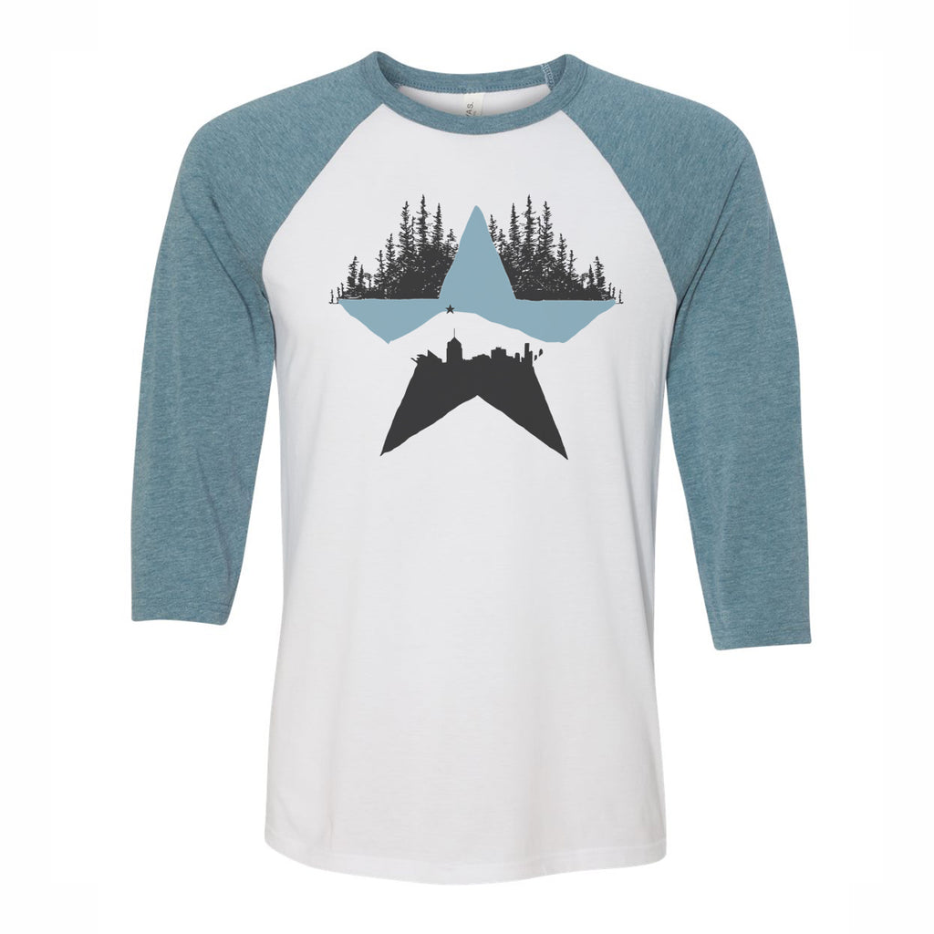 Roanoke Made - Star City Raglan