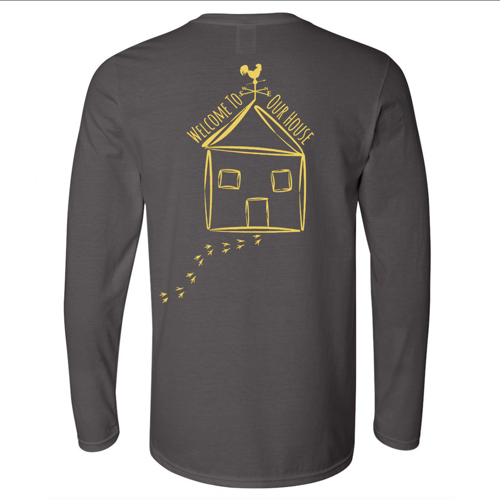 Adult Long Sleeve - Charcoal