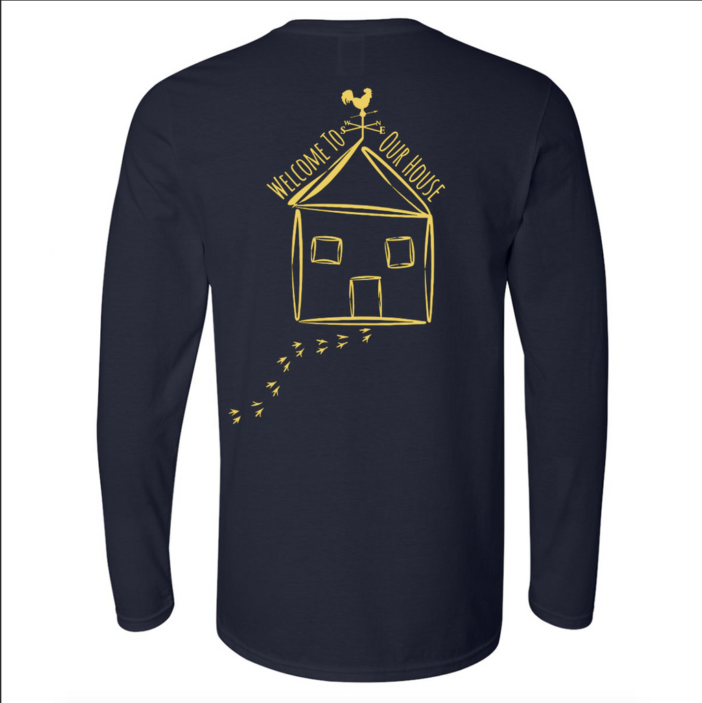 Adult Long Sleeve - Navy