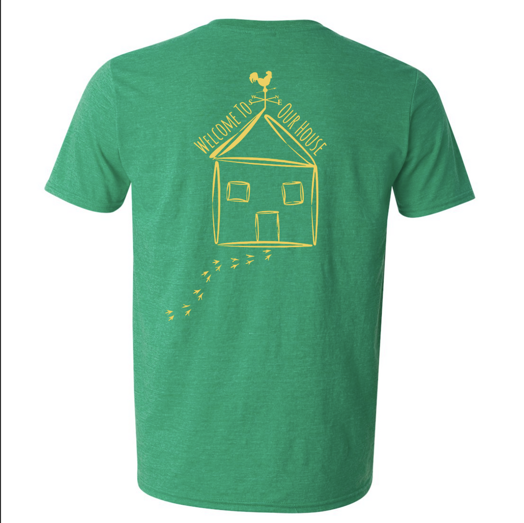 Adult Short Sleeve T-Shirt - Heather Irish Green