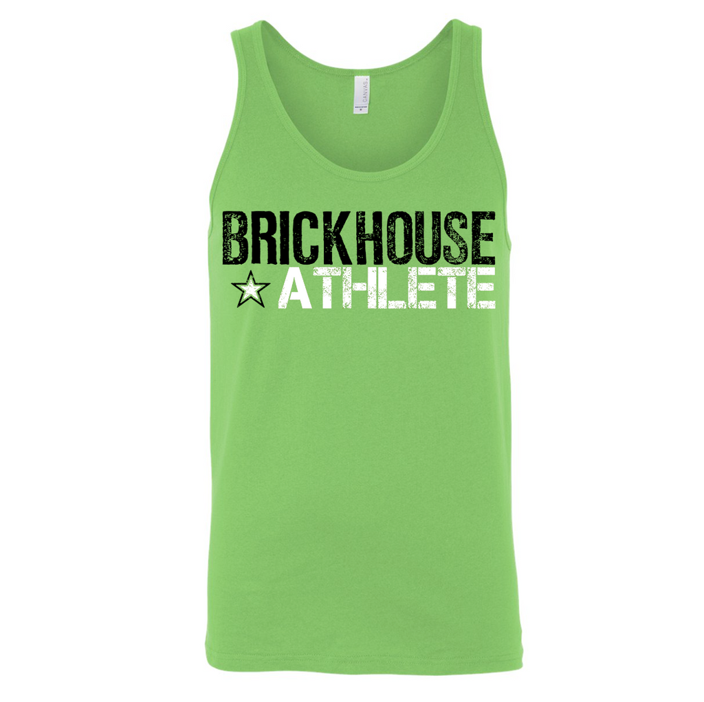 Brickhouse Athlete - Tank Unisex Neon Green