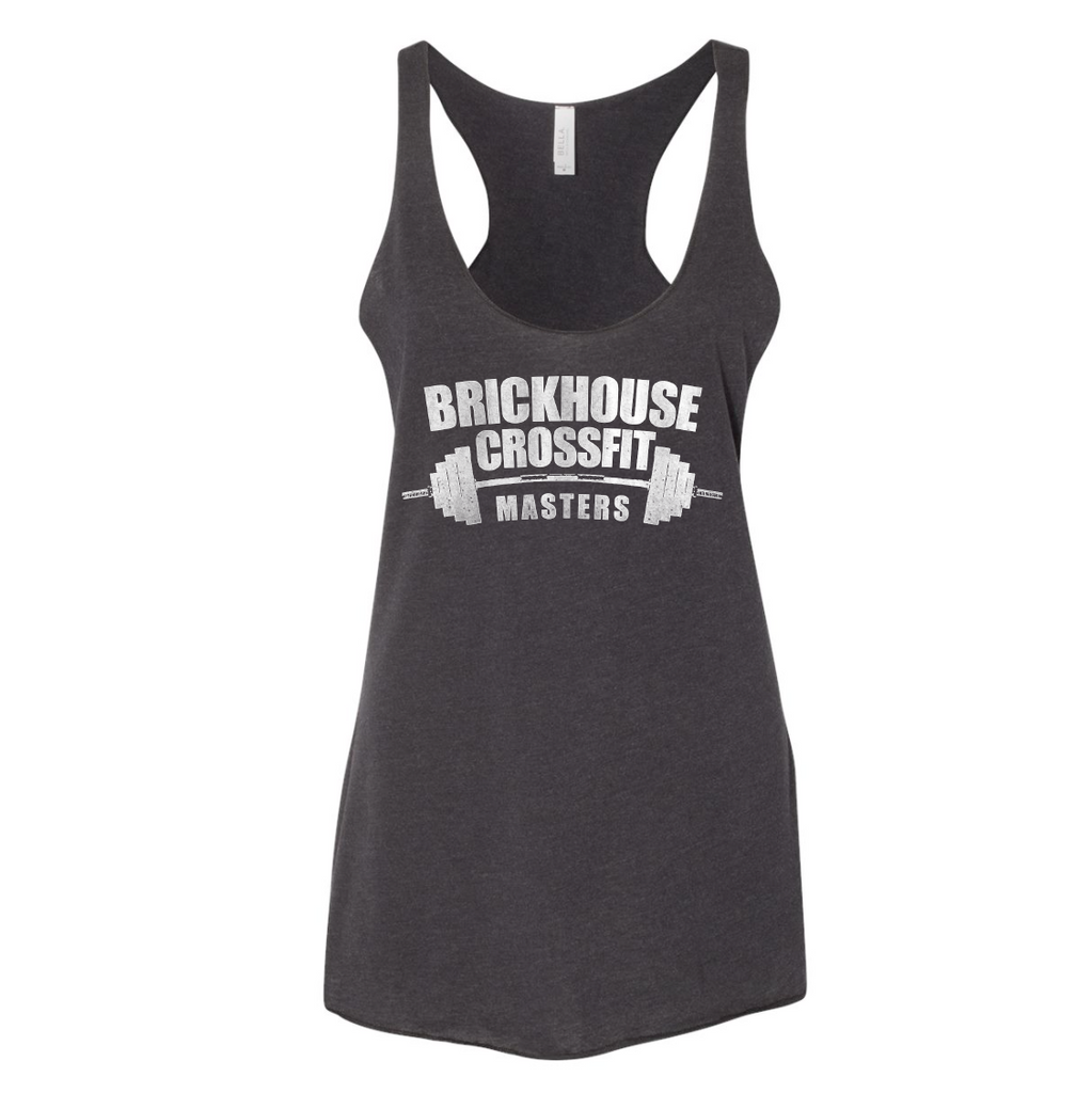 BHC Masters - Ladies Tri-Blend Tank - Black Heather