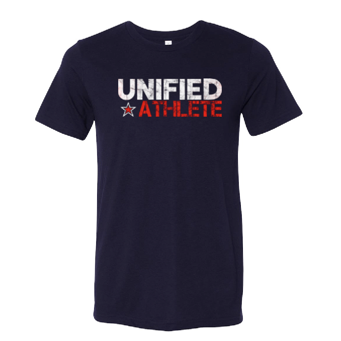 Unified Tri-Blend Tee - Solid Navy