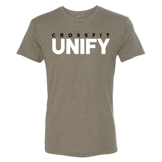 Unify Logo Tri-Blend Tee - Military Green