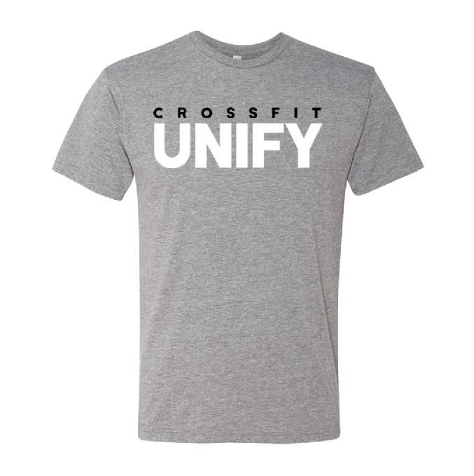 Unify Logo Tri-Blend Tee - Heather