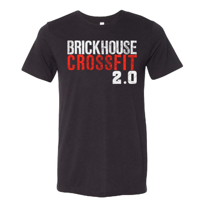 Brickhouse 2.0 Tri-Blend Tee - Solid Black