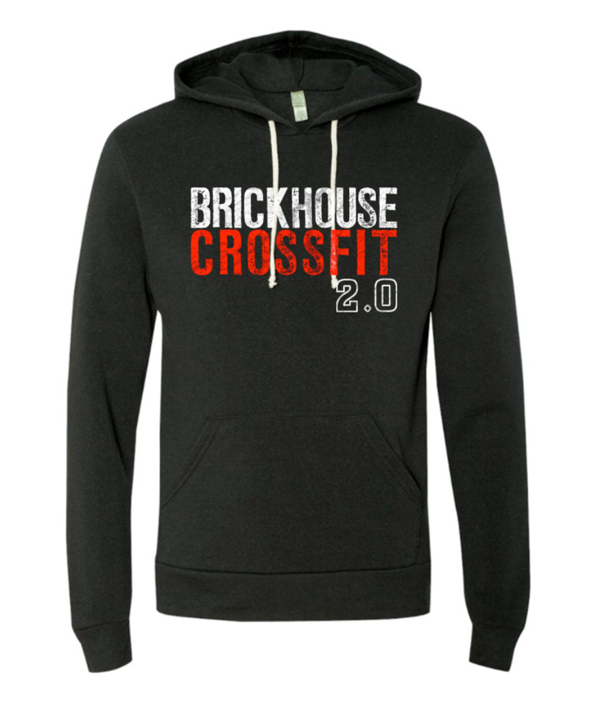 Brickhouse 2.0 Hooded Sweatshirt (Eco True Black)