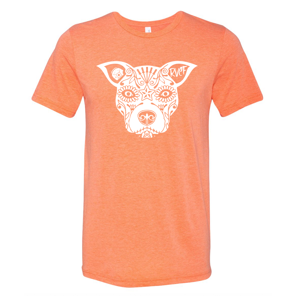 Team Lauren T-Shirt - Orange Tri-Blend