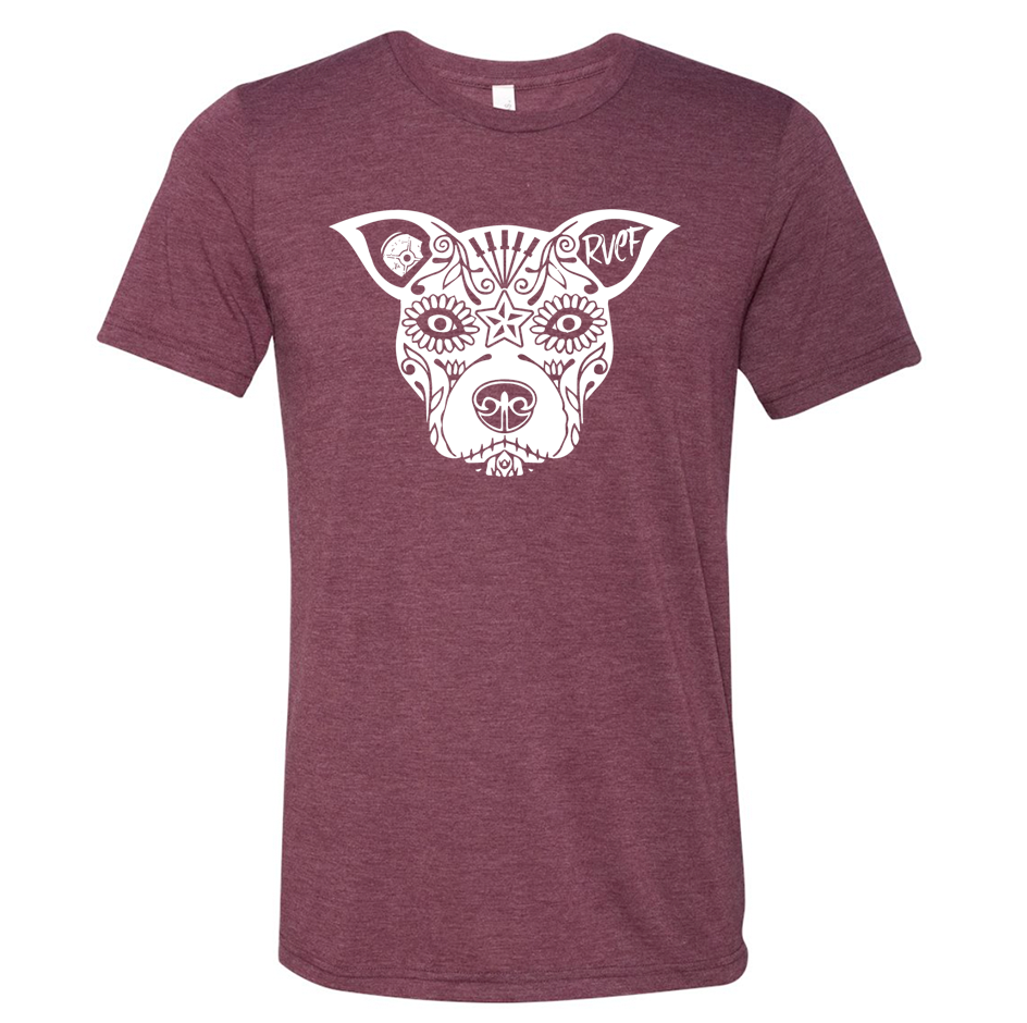 Team Lauren T-Shirt - Maroon Tri-Blend