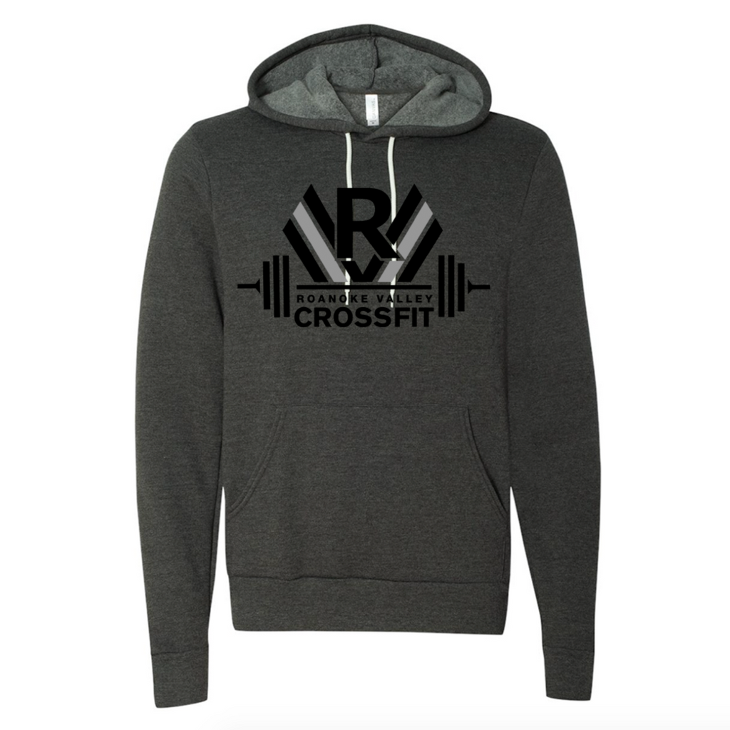 RVCF Barbell Hoodie - Dark Grey Heather