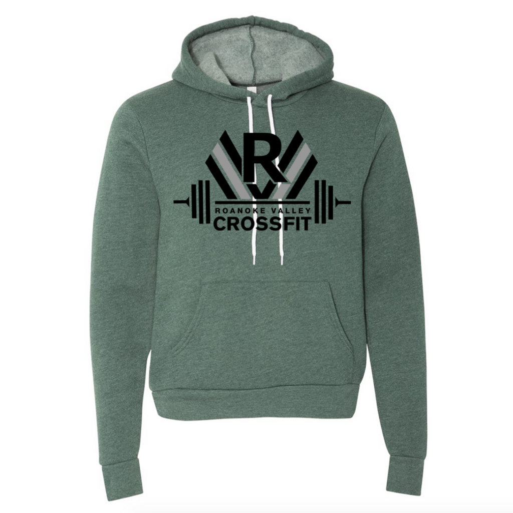 RVCF Barbells Hoodie - Heather Forest