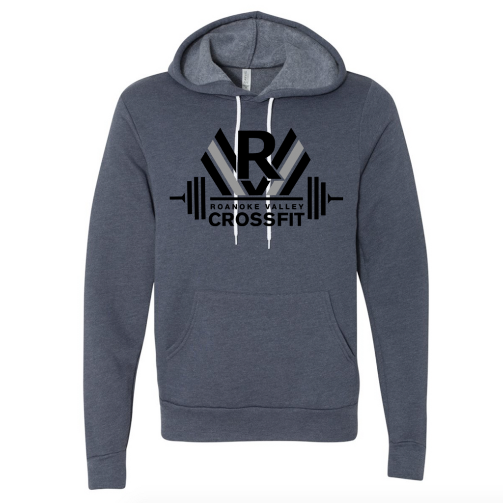RVCF Barbell Hoodie - Heather Navy