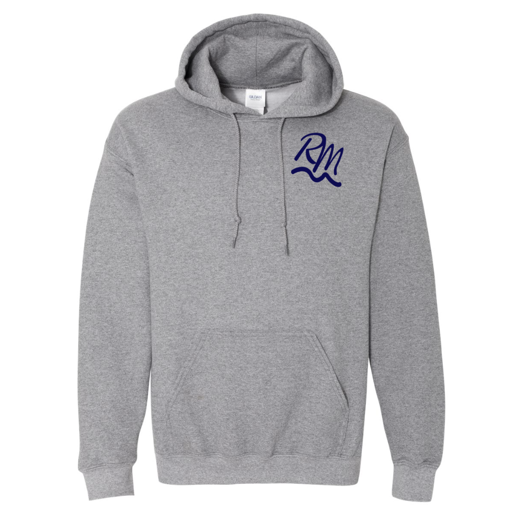 RM Hooded Sweatshirt - Graphite Heather