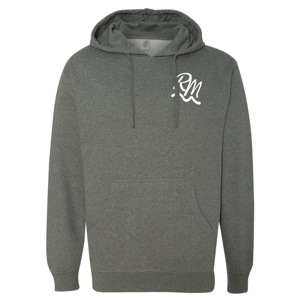 RM Hooded Sweatshirt - Gunmetal Heather