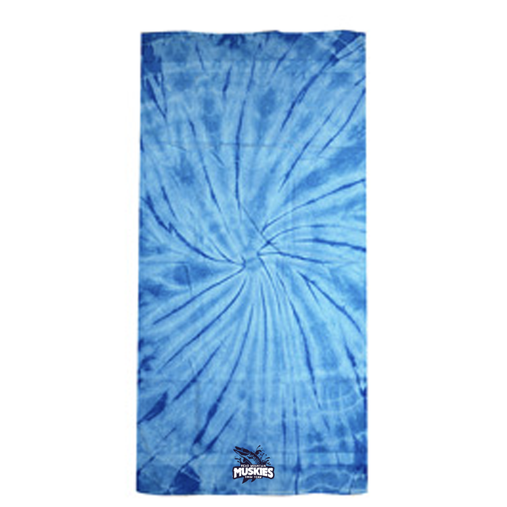 RM Beach Towel - Spider Baby Blue