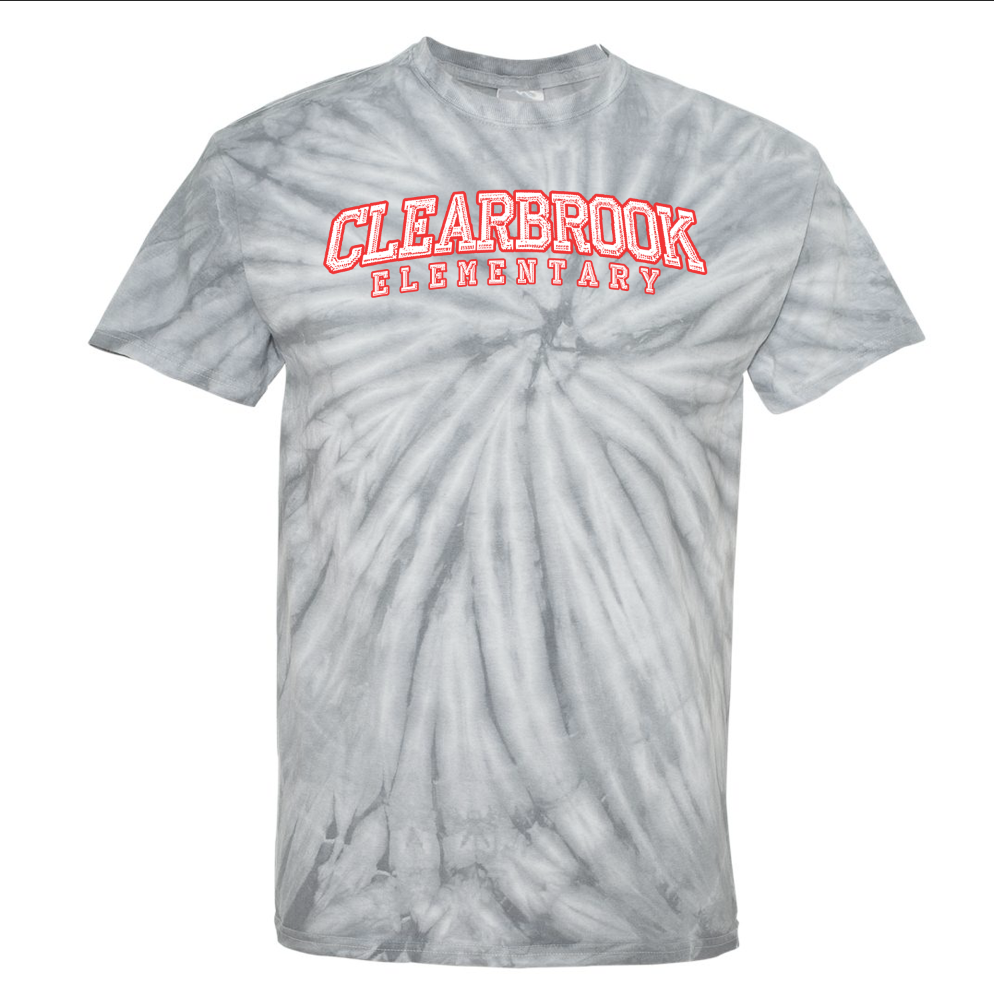 Clearbrook Text - Tie-Dye T-Shirt