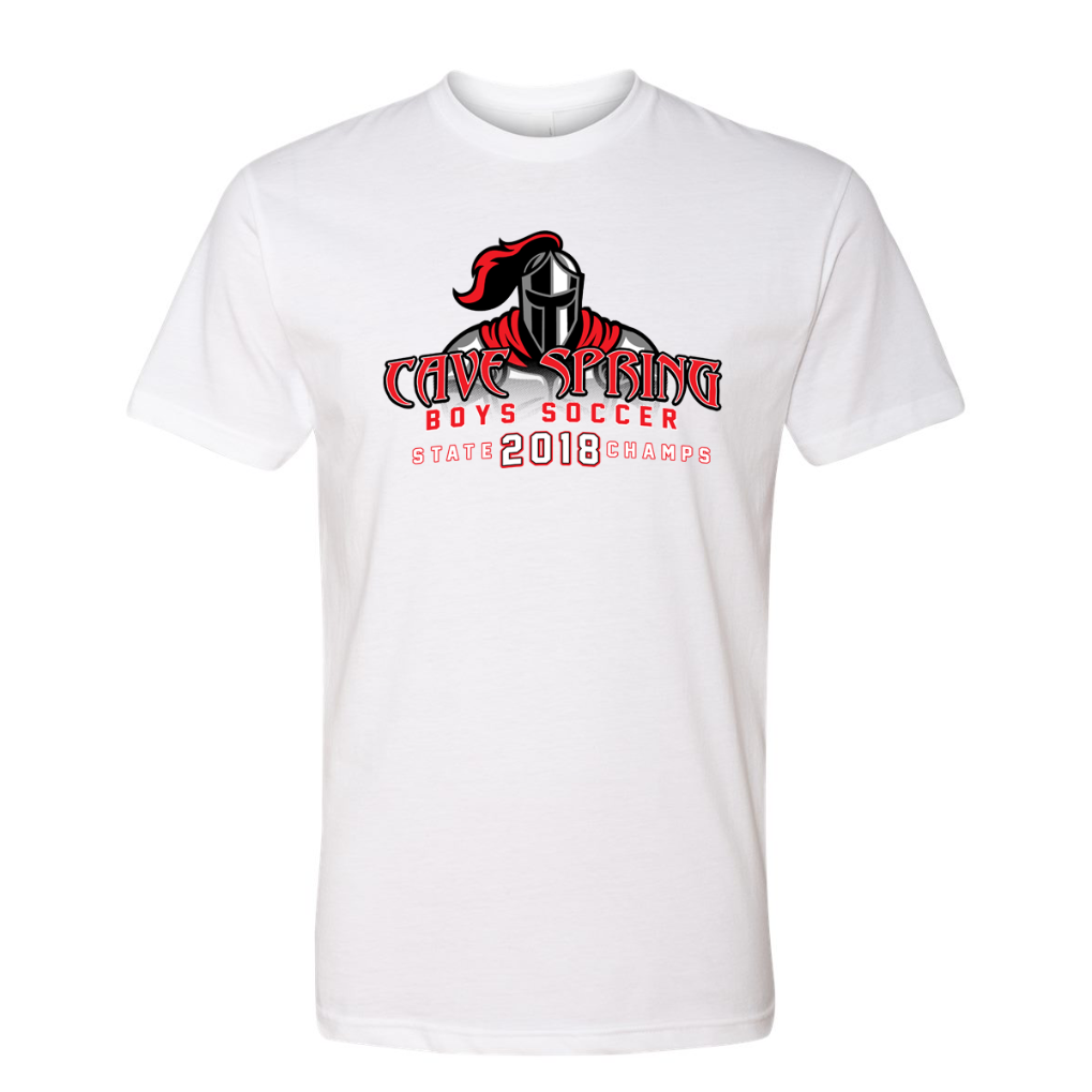 YOUTH Cave Spring Soccer - YOUTH Knight Short Sleeve