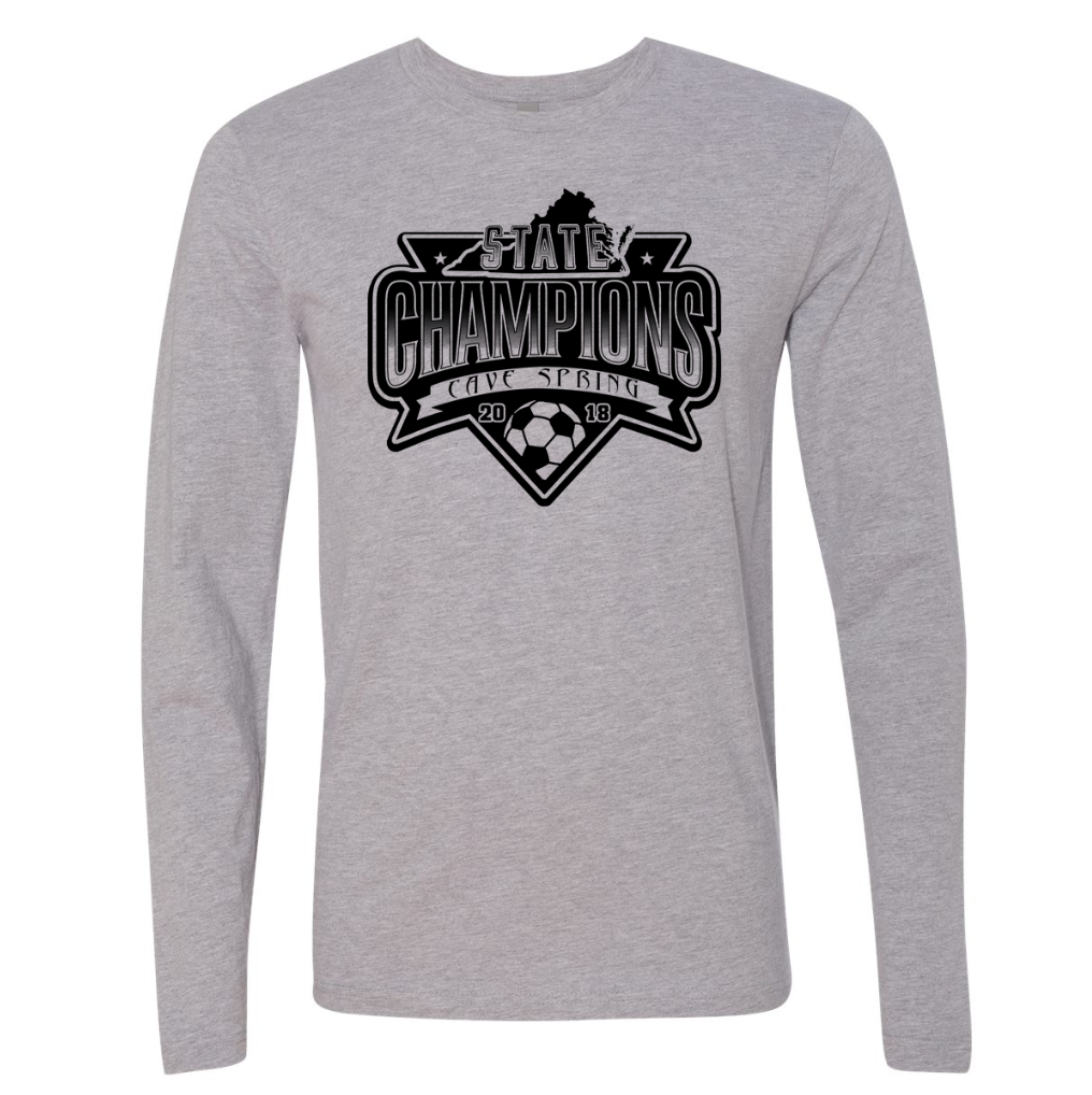 YOUTH Cave Spring Soccer - YOUTH Champ Long Sleeve