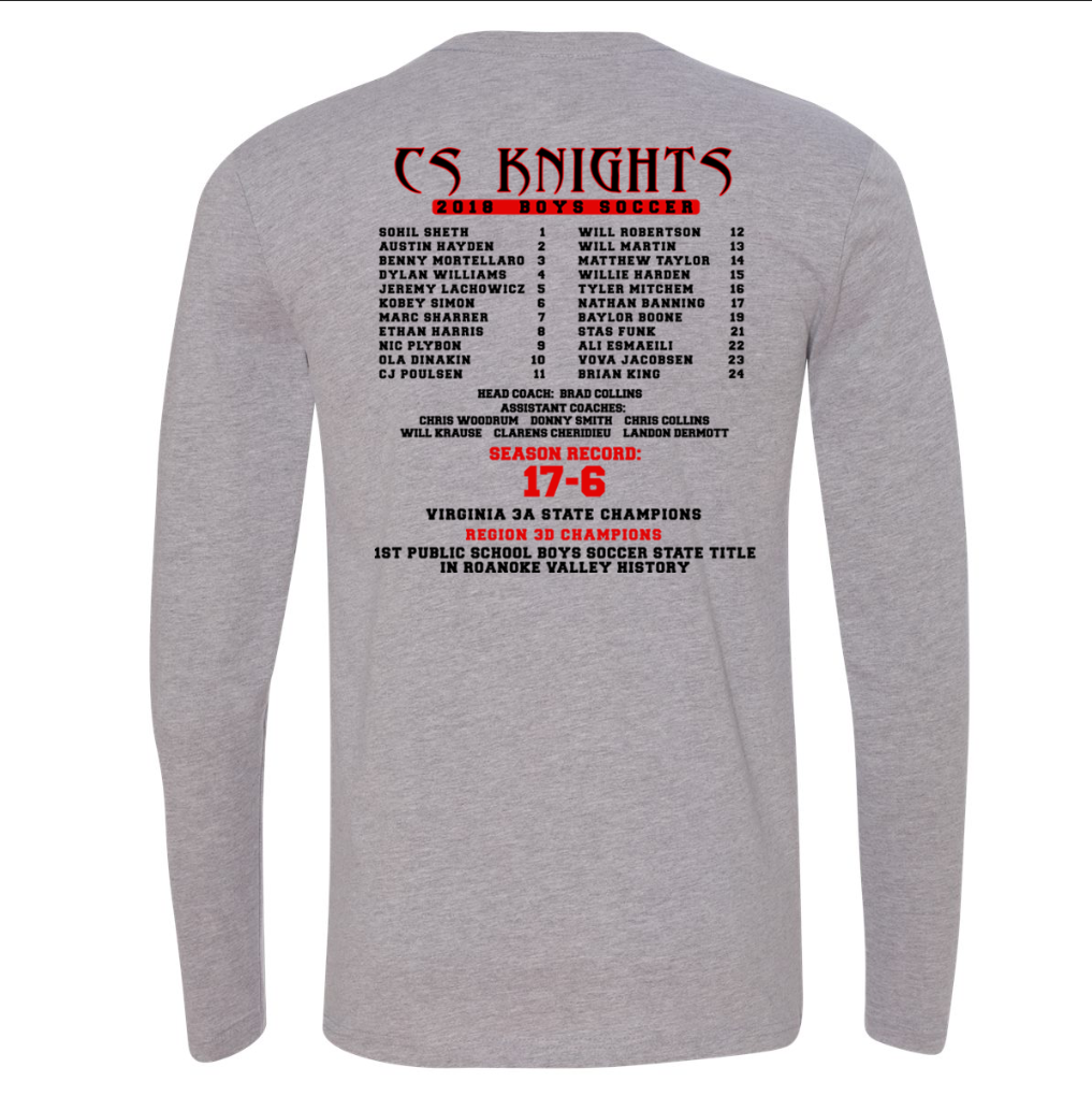 Cave Spring Soccer - Knight Long Sleeve