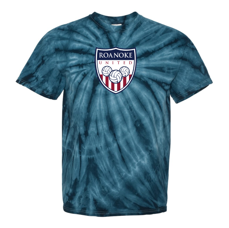 RUV Short Sleeve Tie Dye T-Shirt