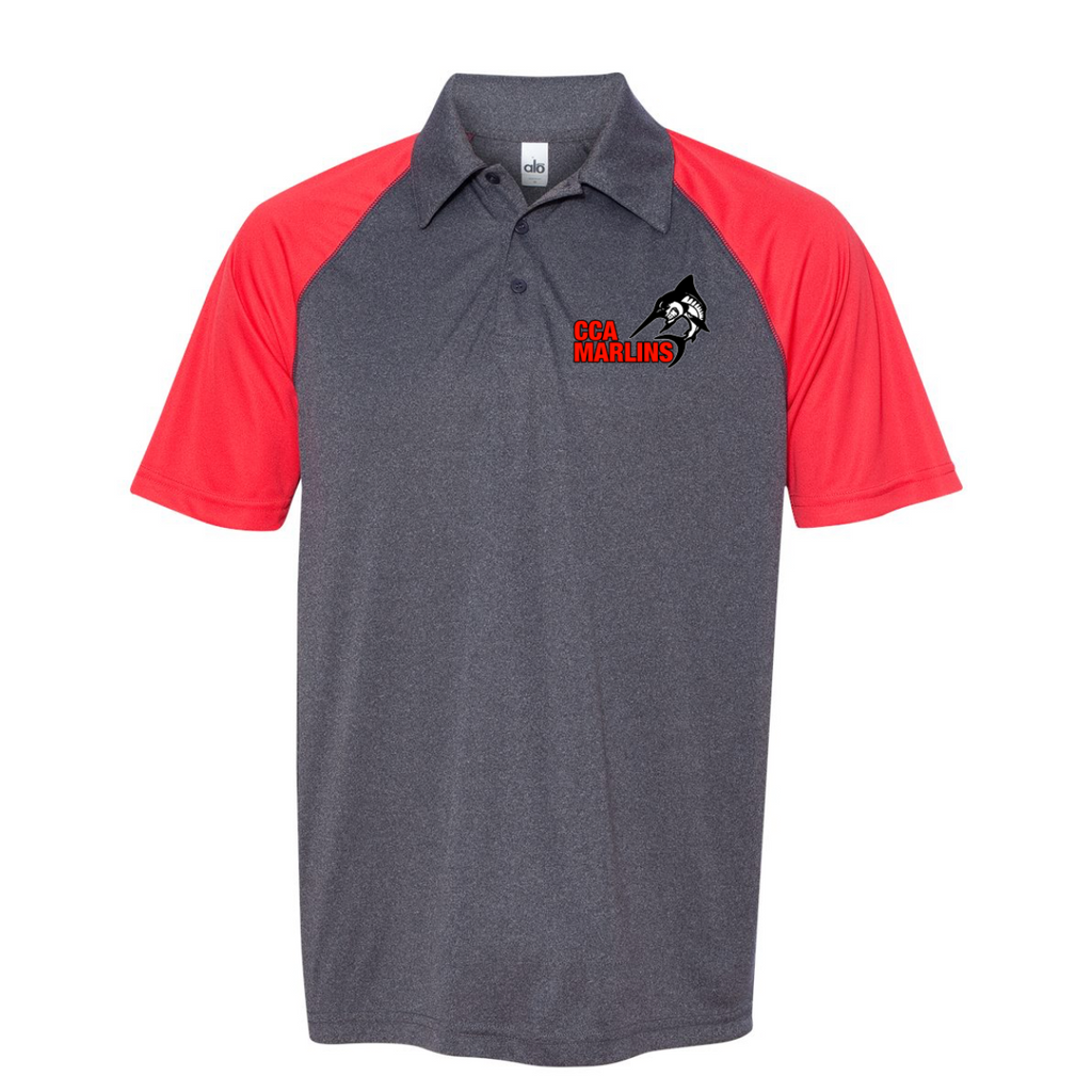CCA - Embroidered Performance Polo