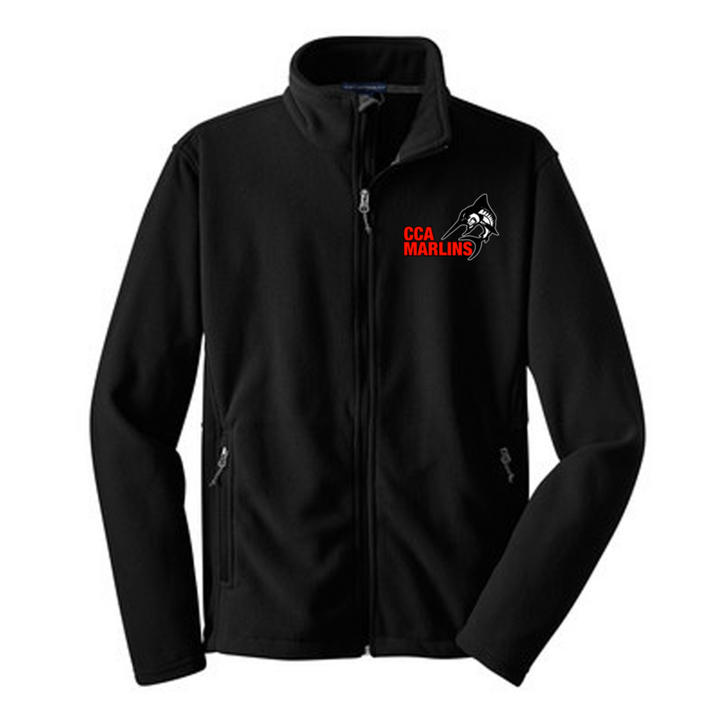 Embroidered Fleece Jacket