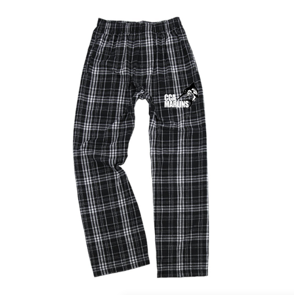 CCA Flannel Pants - Black/White