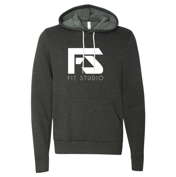 Hooded Sweatshirt - Dark Grey Heather