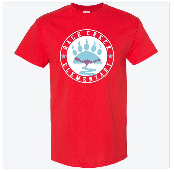 DRI FIT Back Creek Circle - Red