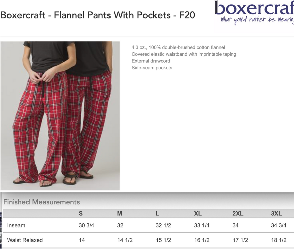 Flannel Pants - Bejeweled