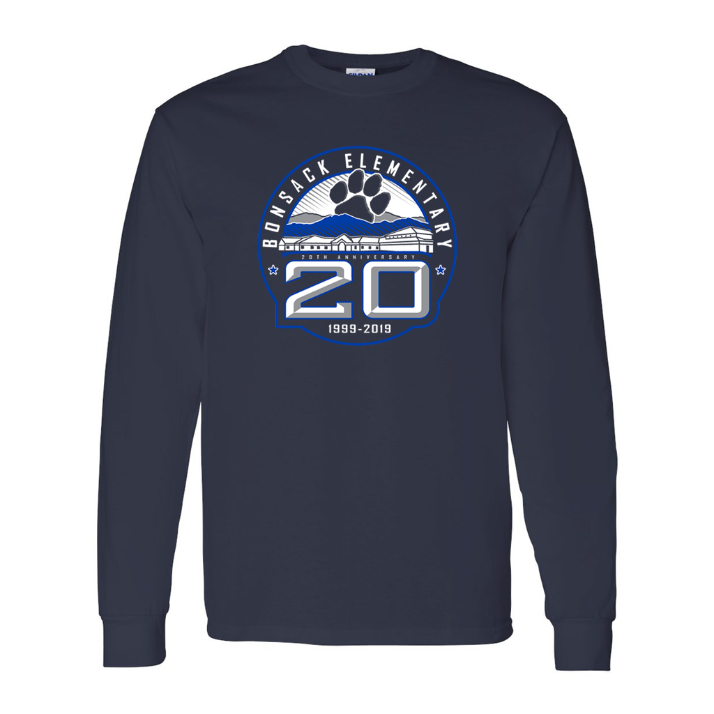 Bonsack 20 Years Long-Sleeve Tee- Youth & Adult Sizes!