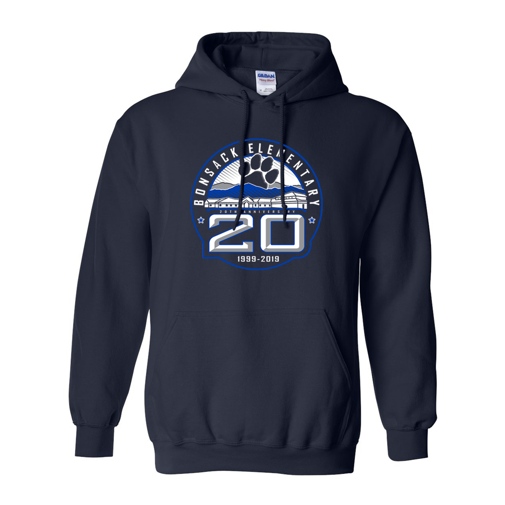 Bonsack 20 Years Pullover Hoodie - Youth & Adult Sizes!