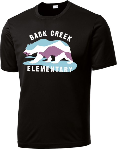DRI FIT Back Creek Classic T-Shirt - Black