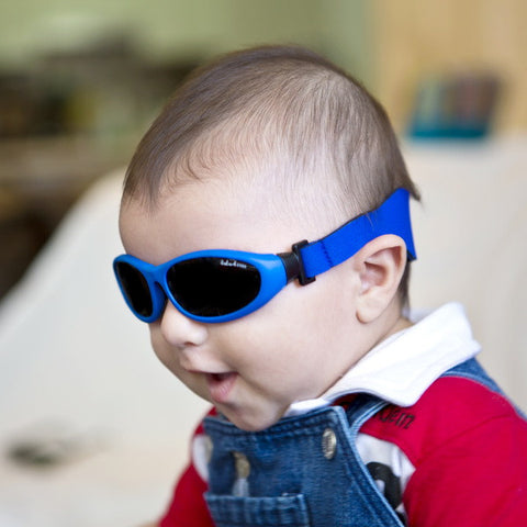 42e2dffccaaa Their babies sunglasses have a soft rubber frame for comfort and a headband  to keep them in place. They provide 100% UV protection
