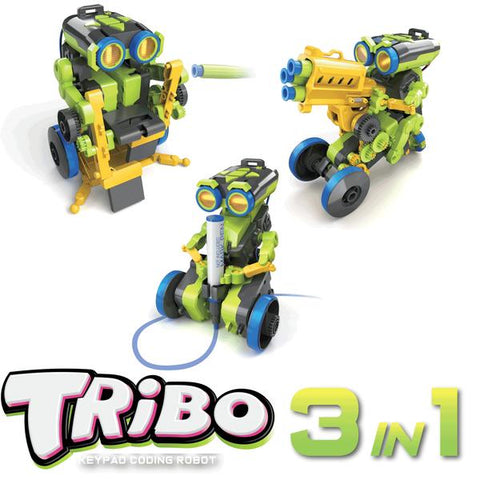 3 in 1 TRIBO Keypad Coding Robot